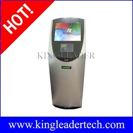 Slanke touchscreen betaling ticketing kiosk met barcodescanner en printer TSK8006